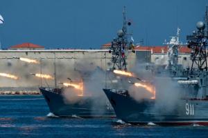 مناورات روسية في البحر الأسود قبل وصول سفينتين أميركيتين
