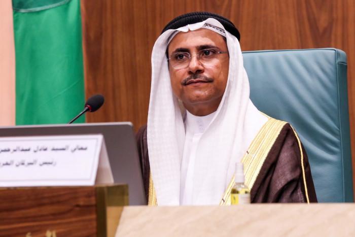البرلمان العربي يطالب المجتمع الدولي بالتحرك العاجل لوقف الانتهاكات الإسرائيلية