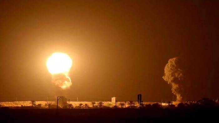 استهداف القاعدة الأمريكية في مطار أربيل بالعراق
