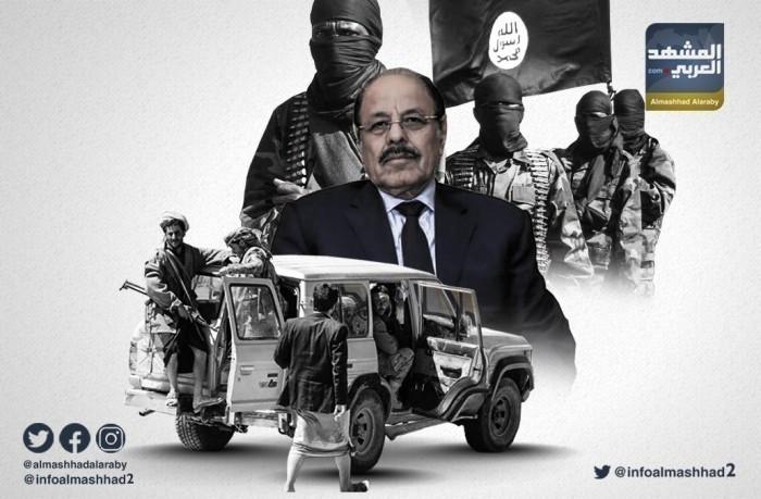 بعد إطلاق سراحه.. مليشيات الشرعية بشبوة تهدد الهقل ومرافقيه