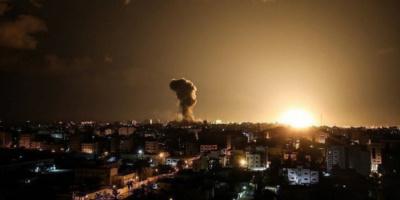 الجيش الإسرائيلي يقصف مجددًا مواقع عسكرية لحماس
