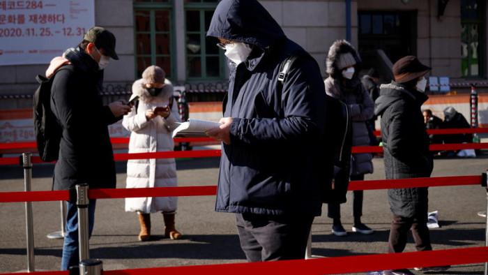 كورونا.. كوريا الجنوبية تسجل 658 إصابة جديدة