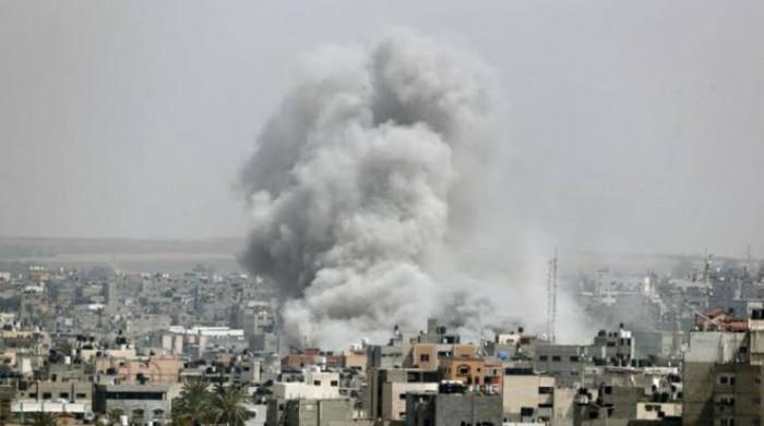 قصف إسرائيلي على مواقع جنوب غزة