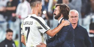 بيرلو يعلن غياب رونالدو عن مباراة أتالانتا