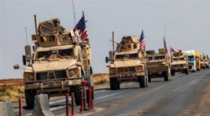 استهداف رتل عسكري تابع للتحالف الدولي بالعراق