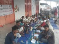 تدشين مبادرة الزُبيدي لإفطار الصائمين في لودر