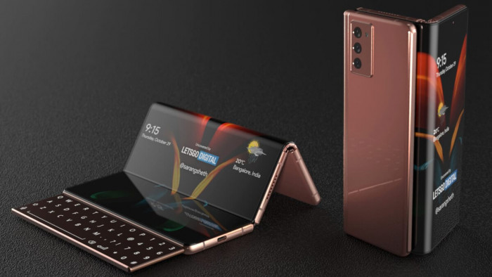 سامسونغ تخطط لإطلاق جهازGalaxy Z Fold Tab