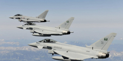 مقاتلات التحالف تُدمر مدرعات وآليات حوثية بمأرب