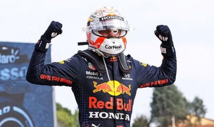 فيرستابن يتوج بسباق جائزة إميليا رومانيا الكبرى