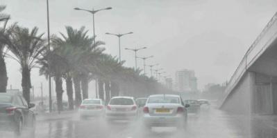 هطول أمطار رعدية في السعودية