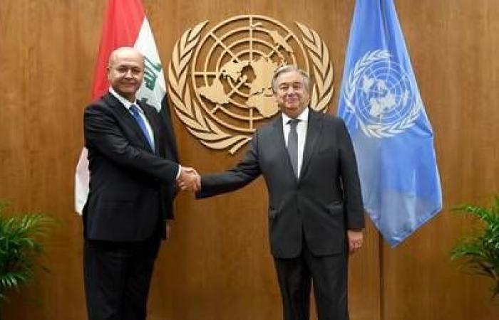 الرئيس العراقي يطالب برقابة الأمم المتحدة على الانتخابات النيابية