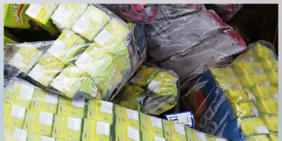منع إدخال منتجات غذائية مخالفة بميناء عدن