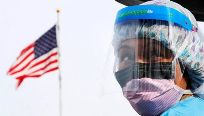 إصابات كورونا الجديدة في أمريكا تتخطى 57 ألف حالة