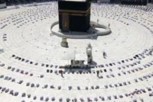 رئاسة شئون الحرمين تهيئ الدور الأول والسطح بالمسجد الحرام لاستقبال المصلين