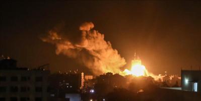 مجددًا.. غارات جوية إسرائيلية تستهدف مواقع بغزة