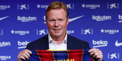 كومان يتوقع البقاء مع برشلونة في الموسم المقبل