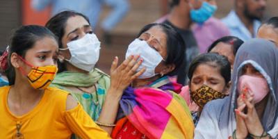 """""""الهند"""" تتصدر الترند عقب تسجيل مليون إصابة بكورونا خلال 3 أيام"""