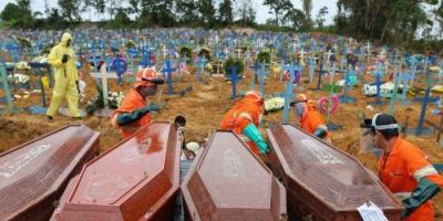 كورونا.. البرازيل تسجل 3026 وفاة