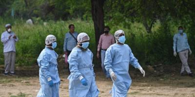حصيلة الوفيات بكورونا في الهند تتخطى الـ200 ألف