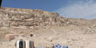 حوادث مرورية توقف الطريق بين ساحل ووادي حضرموت