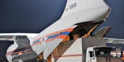 روسيا تُرسل أول طائرة مساعدات طبية إلى الهند