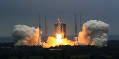 الصين تطلق أول المكونات الثلاثة لمحطتها الفضائية