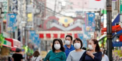 اليابان تُسجل 53 وفاة و5815 إصابة جديدة بكورونا