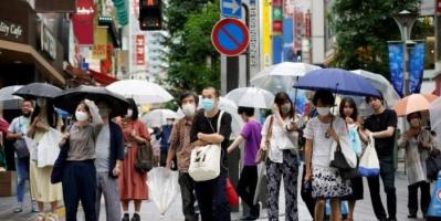 لأول مرة.. تجاوز حالات الإصابة بكورونا في طوكيو 1000 إصابة منذ يناير