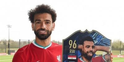 الوحيد من ليفربول.. صلاح بالتشكيل المثالي للبريميرليج في لعبة فيفا 2021