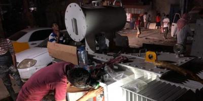 تركيب محول كهرباء جديد في المعلا