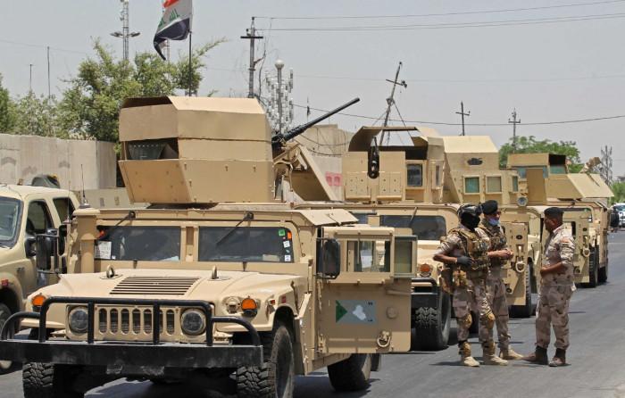 مقتل 4 من الجيش العراقي في انفجار عبوة ناسفة شمالي بغداد