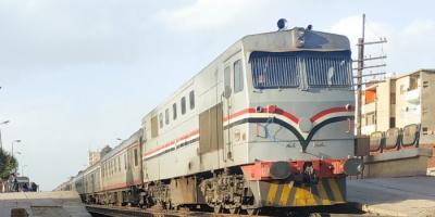 خروج جديد لقطار عن القضبان في مصر