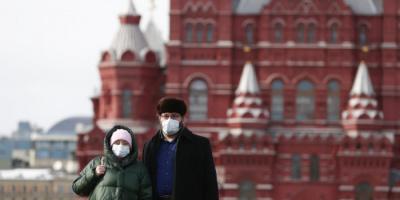 روسيا تُسجل 392 وفاة و9270 إصابة جديدة بكورونا