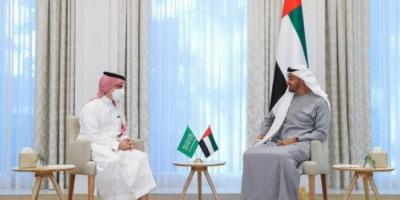 بن زايد يبحث مع وزير الخارجية السعودي المستجدات الإقليمية والدولية