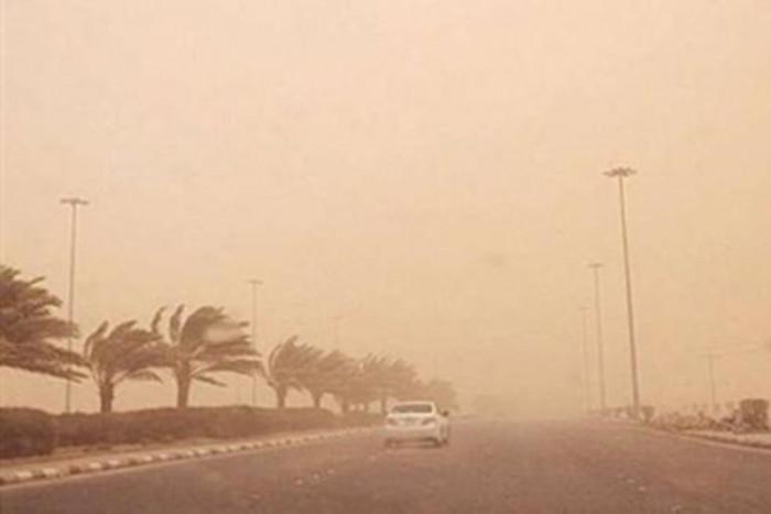 رياح سطحية على أجزاء من شمال السعودية