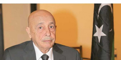 رئيس النواب الليبي يتسلم مشروع ميزانية العام الجاري