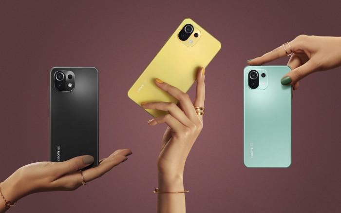 شاومي تطلق هاتفها الجديد Xiaomi Mi 11 Lite 4G