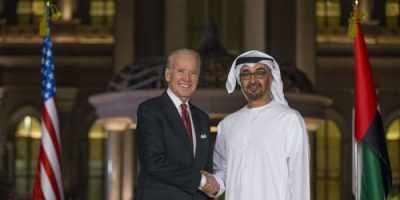 تفاصيل أول اتصال هاتفي بين الرئيس الأمريكي وولي عهد أبو ظبي