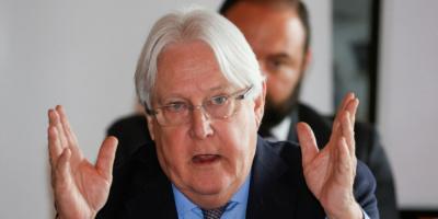 غريفيث يختتم جولة مشاوراته بشأن الأزمة اليمنية
