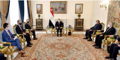 الرئيس المصري: قضية سد النهضة وجودية ولن نقبل بالإضرار بمصالحنا المائية