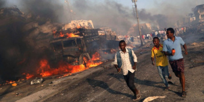 مقتل ثلاثة أشخاص وإصابة امرأة بجروح جراء تفجير في مقدشيو