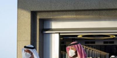 بن زايد وبن سلمان يبحثان العلاقات الإماراتية السعودية