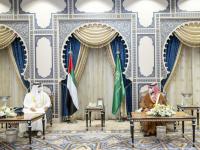 تفاصيل اللقاء الذي جمع بين بن زايد وبن سلمان في جدة