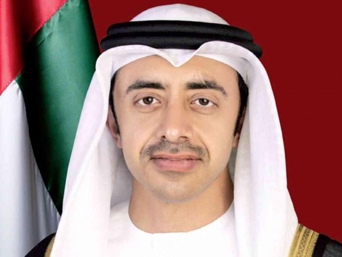 الشيخ عبد الله بن زايد يستقبل مدير الوكالة الدولية للطاقة المتجددة