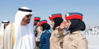 """""""الدفاع الإماراتية"""" توجه التحية للمرأة العسكرية في ذكرى توحيد القوات المسلحة"""