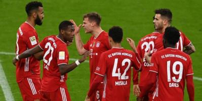 بايرن يتطلع لحسم لقب الدوري الألماني أمام مونشنجلادباخ