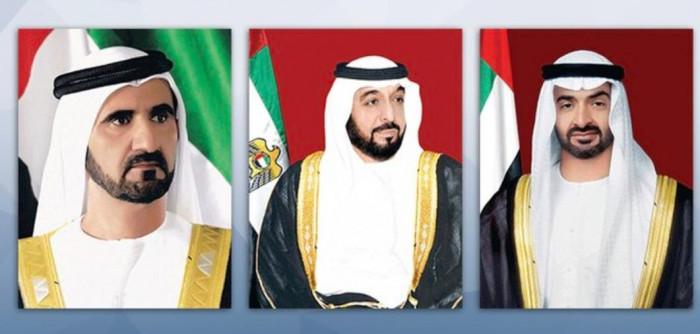 الرئيس الإماراتي ونائبه وبن زايد يعزون الرئيس الجزائري في ضحايا الفيضانات