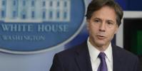 وزير الخارجية الأميركي يبحث مع الرئيس الأوكراني عدداً من الموضوعات ذات الاهتمام المشترك