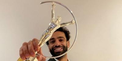 صلاح يتوج بجائزة لوريوس للإلهام الرياضي