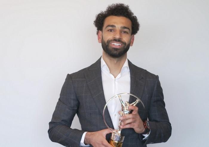 صلاح يوجه عدة رسائل بعد فوزه بجائزة لوريوس للإلهام الرياضي